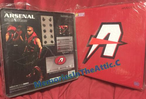 DC Comics Mezco Toys One:12 Collective PX ARSENAL Green Arrow 6 Action Figure_