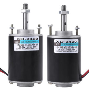12-24V-30W-Permanent-Magnet-DC-Motor-High-Speed-CW-CCW-For-DIY-Generator-HighQ