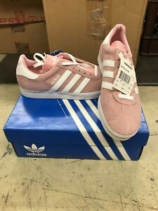 Details about Adidas Women's Gazelle II Shoes - Pink & White