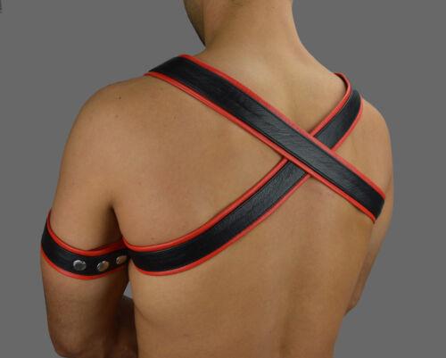 awanstar Echt Leder harness,Chest Leather Harness,Harnais,Lederharness