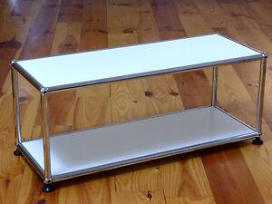 Usm Haller Tv Lowboard Beistelltisch Möbel Lichtgrau 75x25x25 Cm