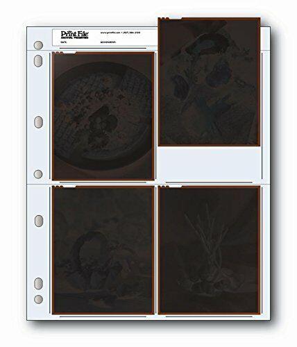 Printfile 4 4in X 5in Negatives 100 Pack - Printfile 454B100