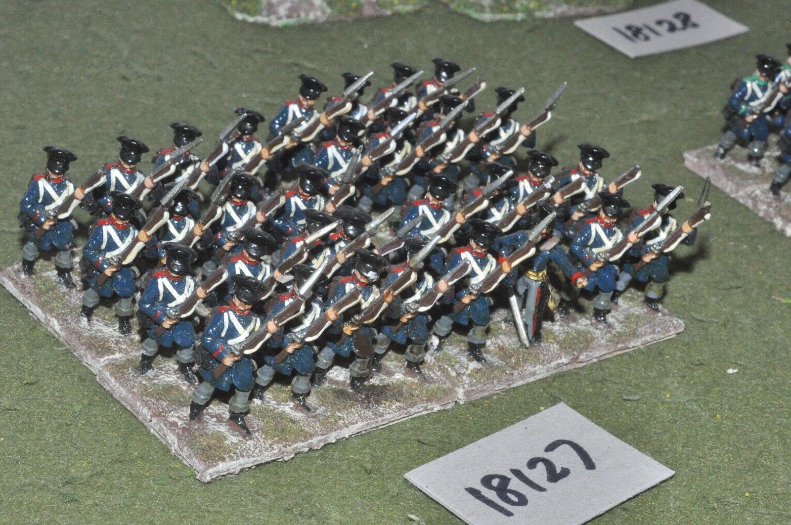 25mm napoleonic   prussian - infantry 32 figs - inf (18127)