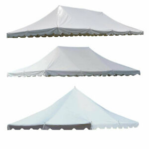 Replacement Vinyl Pole Tent Top Waterproof Fire Retardant