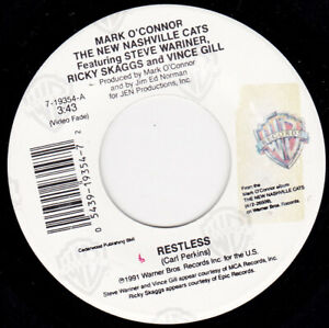 "MARK O' CONNOR - Restless  7"" 45"