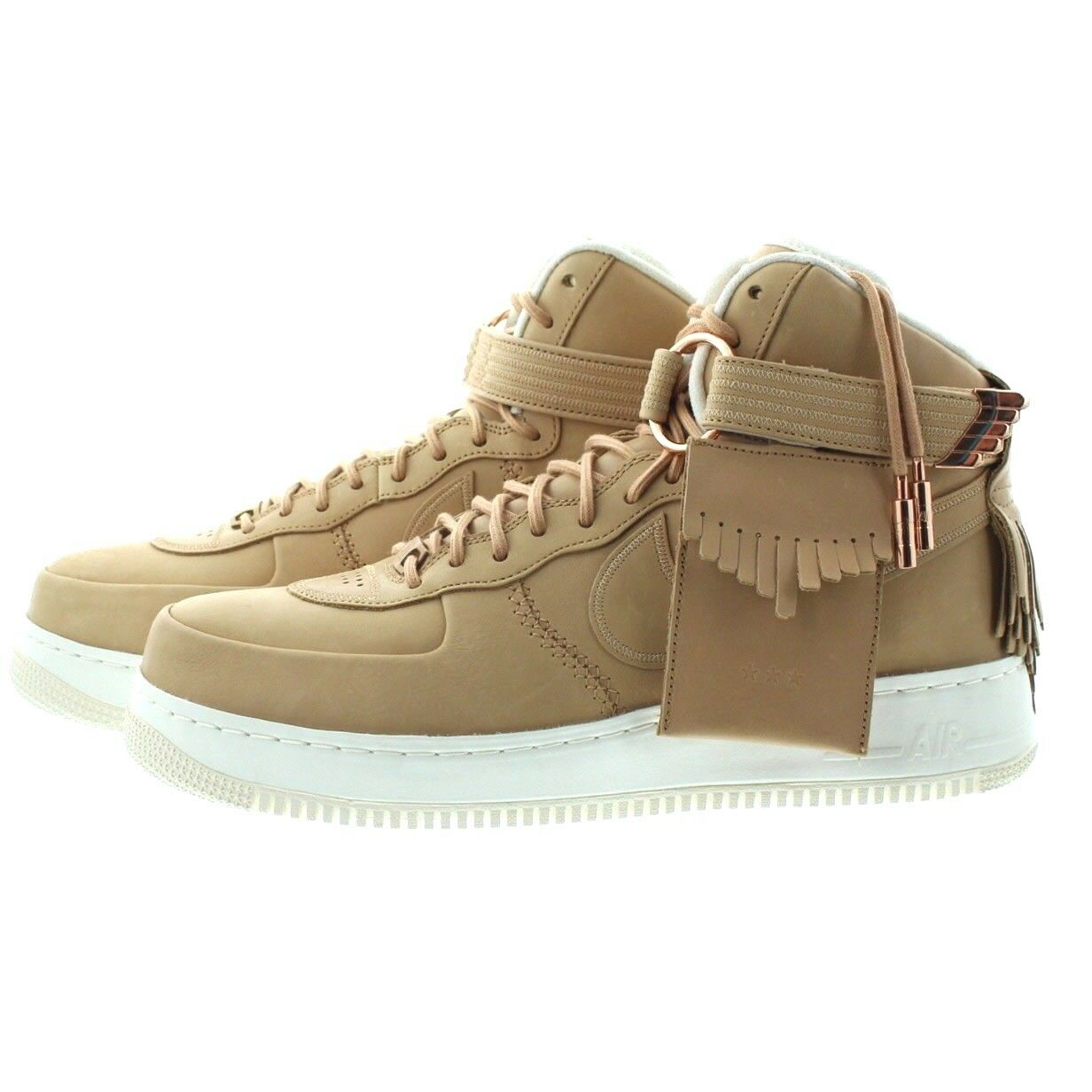 Nike 919473 200 Mens Air Force 1 High Top Tassel Basketball shoes Sneakers