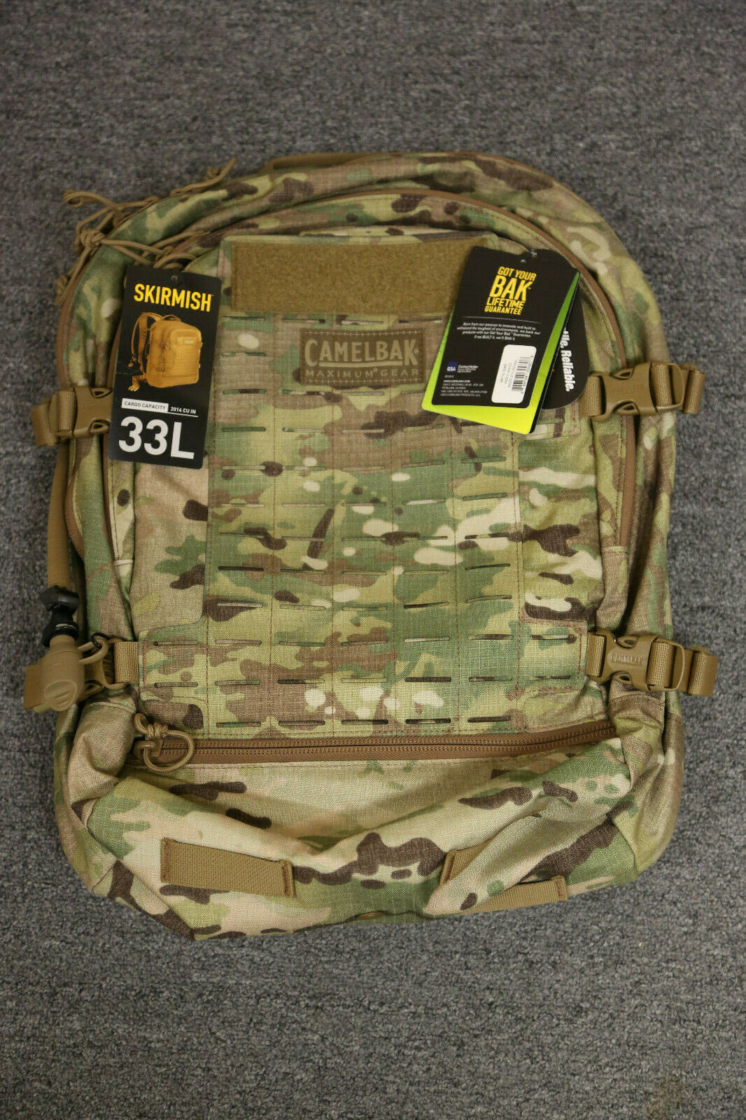 Camelbak Skirmish  100 oz Hydration Milspec Bag Antidote LG  all products get up to 34% off