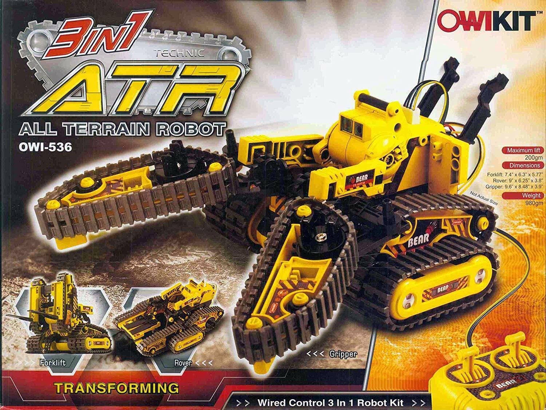OWI - 3 en 1 Kit de Todo Terreno Robot