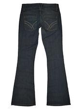 $200 NWOT William Rast Savoy Low Rise Flare Leg Stretch Denim Size 29 x 34