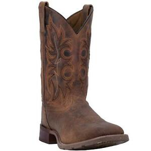 Laredo-Durant-LA7835-Mens-Rust-Leather-Western-Boots