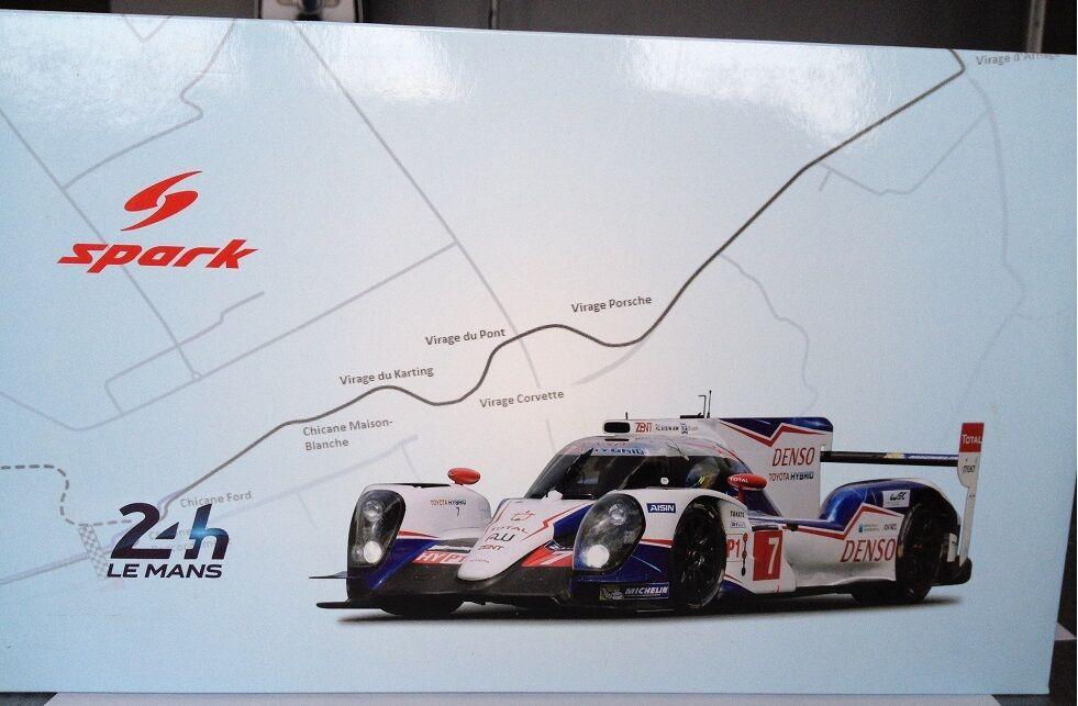1 18 Spark Toyota Hybrid TS040 LM 2014 18S143