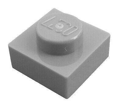 Lego 50 Stück Platte 1x1 in hellgrau Neu Platten Basics 3024 light bluish gray