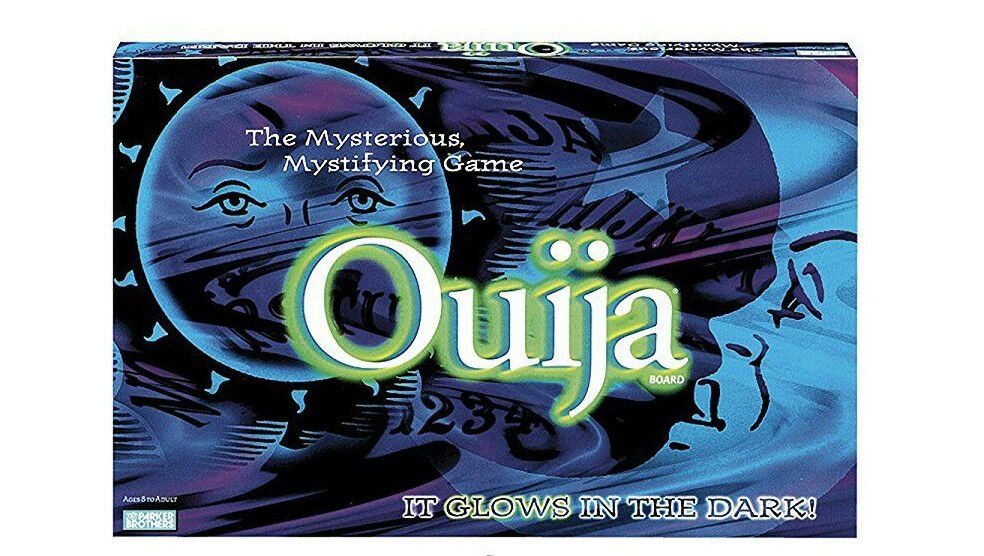 NEW Ouija, It Glows in the Dark 1998 BY Parker Bredhers Hasbro Classic BOAD GAME