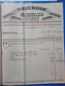 Wittenberge-alte-Rechnung-1926