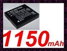 ★★★ 1150 mAh BATTERIE Pour PANASONIC LUMIX DMC-FS20S    DMC-FX33EG-S  DMC-FS5S