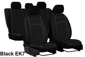 FORD TRANSIT COURIER 2014 ON ECO LEATHER /& ALICANTE SEAT COVERS MADE TO MEASURE