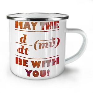 Force Math Formula NEW Enamel Tea Mug 10 oz | Wellcoda
