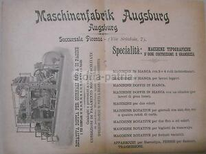 FIRENZE-MACCHINE-TIPOGRAFICHE-ANTICHE-ROTATIVA-PER-GIORNALI-AUGSBURG-PUBBLICITA-039