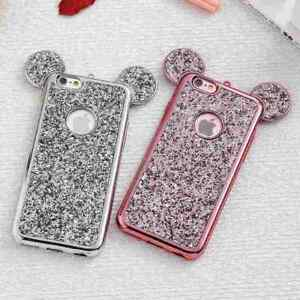 Luxury-Bling-Soft-TPU-Protective-Cute-Case-Mickey-Ear-For-iPhone-5s-6-6s-7-Plus