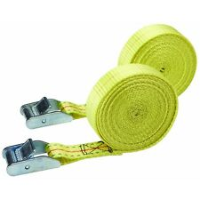 """2 PACK HEAVY DUTY 1"""" x 12 Ft. 330 LB.Lashing Straps hold & secure cargo,Luggage"""