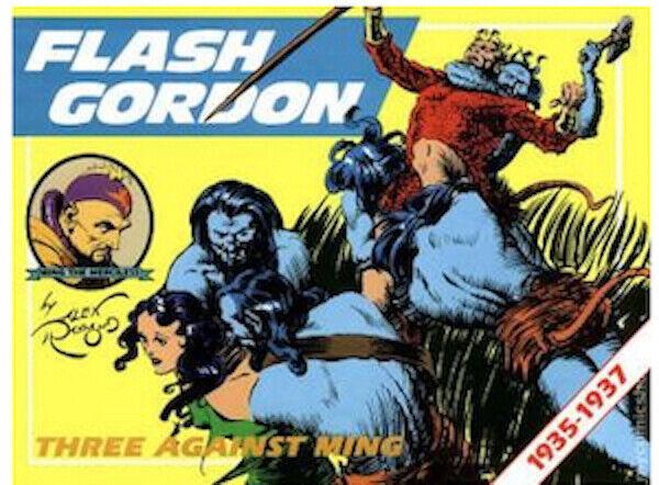 "FLASH GORDON :""Three Against Ming"" Alex Raymond, 1935-1937 HARD COVER ~ ""NEW"""
