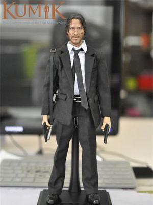 1//6 Full Set Collection Keanu Reeves Action Figure KUMIK KMF037 Sodier Model Toy