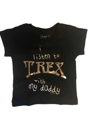 Official Baby T Shirt T.Rex Marc Bolan - I Listen To