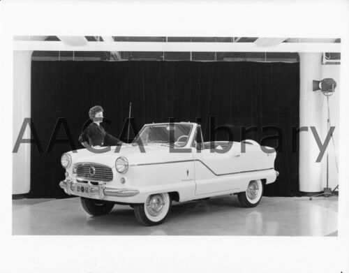 Ref. #57242 1961 Nash Metropolitan Convertible Coupe Factory Photo