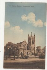 All Saints Church Edmonton Canada 1916 Postcard 382a