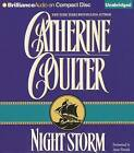 Night Storm by Catherine Coulter (CD-Audio, 2013)