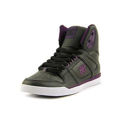 DC Shoes Rebound High WNT Women  Round Toe Leather  Skate Shoe NWOB