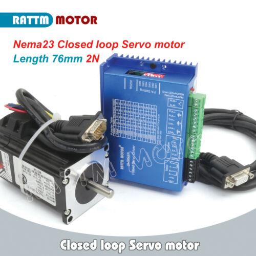 【Ger】NEMA23 2N.m Servo CNC Kit Closed loop Stepper Motor Driver+36V Power Supply