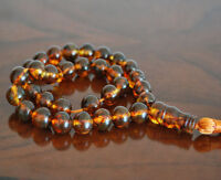 Baltic Amber 33 islamic prayer beads Misbaha Tasbih 32.5 g