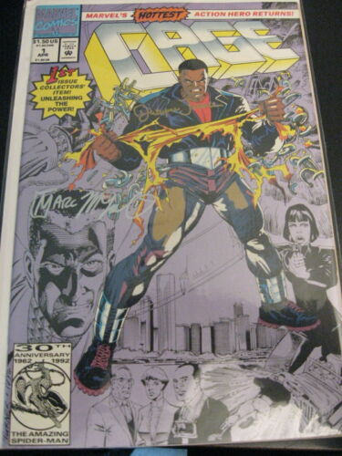 CAGE #1-20 Complete Run **#1 2X SIGNED TURNER!** 1992 COA VF//NM MCLAURIN