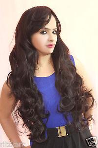 Ritzkart-Women-Fashion-Hilighted-maroon-Dark-Brown-Mix-Feel-As-a-Human-Hair
