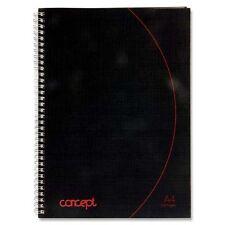 A4 Jotta Spiral Bound Notebook 160 Pages Hard Back Wired Wiro School Office