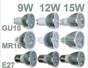 Spotlight-MR16-GU10-E27-9W-12W-15W-Warm-Cool-LED-Down-Light-Bulbs-Lamp