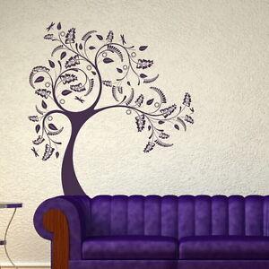 Big-Tree-Wall-Sticker-Wall-Decal-Art-Large-Removable-Tree-Wall-Transfer-ne52