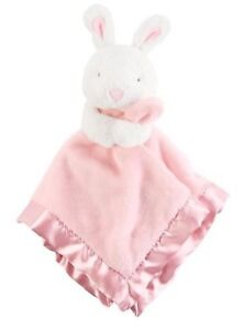 NWT-Carter-039-s-Girl-039-s-Pink-Bunny-Rabbit-Plush-Security-Blanket-Lovey-New