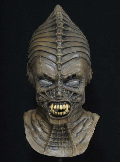 DELUXE SYNGENOR FILM SCARY OVERHEAD LATEX VAMPIRE ALIEN CREATURE MASK HALLOWEEN
