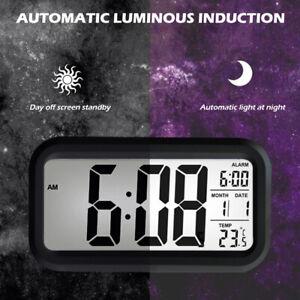 Digital-LED-Clock-Alarm-Clock-Temperature-Display-Reveil-numerique-Capteur-ME