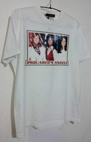 ' shirt dsquared's L Charlie Bianco Angels Angels Taglia T Dsquared² Yxq5FwZY
