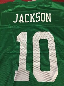 DESEAN JACKSON #10 PHILADELPHIA EAGLES KELLY GREEN REEBOK NFL ...