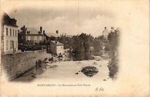 CPA St-AMAND-MONTROND - La Marmande au Pont Paquet (634827)