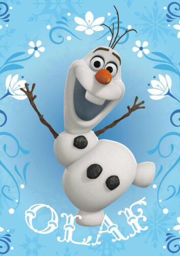 A1 - A5 SIZES ONE PIECE POSTER DISNEY FROZEN MOVIE OLAF WALL ART