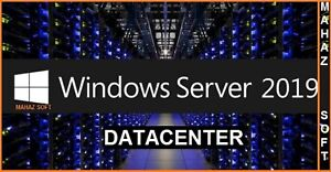 Microsoft Windows Server 2019 DATACENTER Full Retail Version + 32/64 BITS+ ESD++