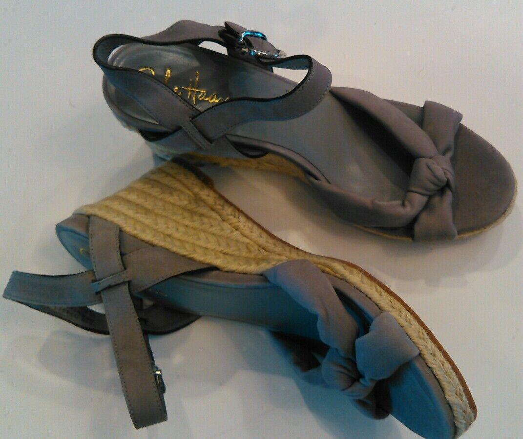 Nuevo Cole Haan Haan Haan Air Cynthia gris Cuña Sandalias Mujer Tamaño del zapato 7.5 b niño  Venta en línea precio bajo descuento