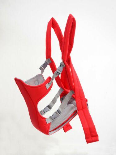 Infant Baby Carrier Ergonomic Adjustable Breathable Wrap Sling Backpack 0-3 Yrs
