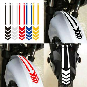 Motorcycle-Fender-Reflective-Waterproof-Safety-Warning-Arrow-Tape-Stickers-De-GQ