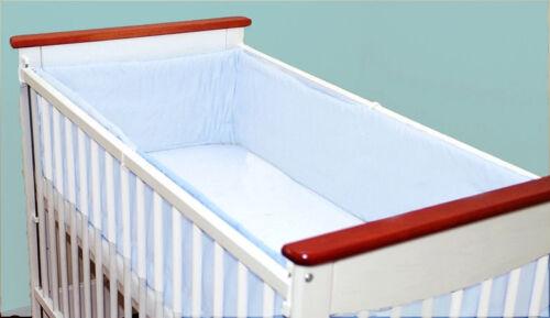 Tout Rond//tout autour de NURSERY Pare-chocs 420 cm long//Rembourré//pour s/'adapter pour lit bébé